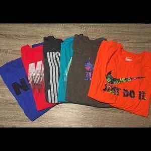 6 Men's 4XL Nike T-Shirts (Bundle)